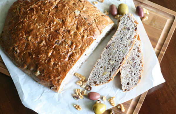 Blue Ribbon Fresh Herb Olive Nut Bread