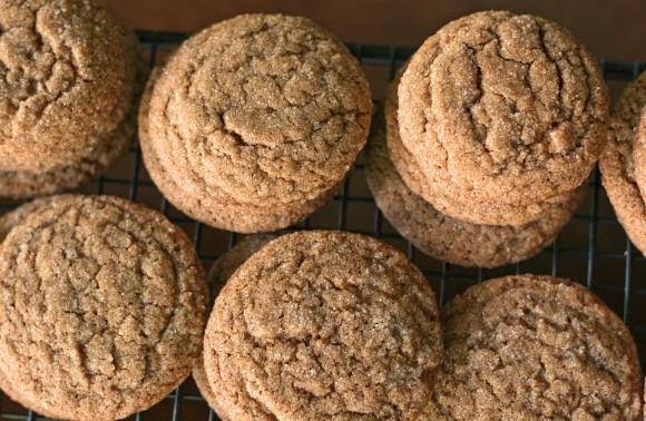 Ginger Sugar Cookies-State Fair Texas