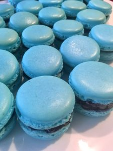 Best Blueberry French Macarons