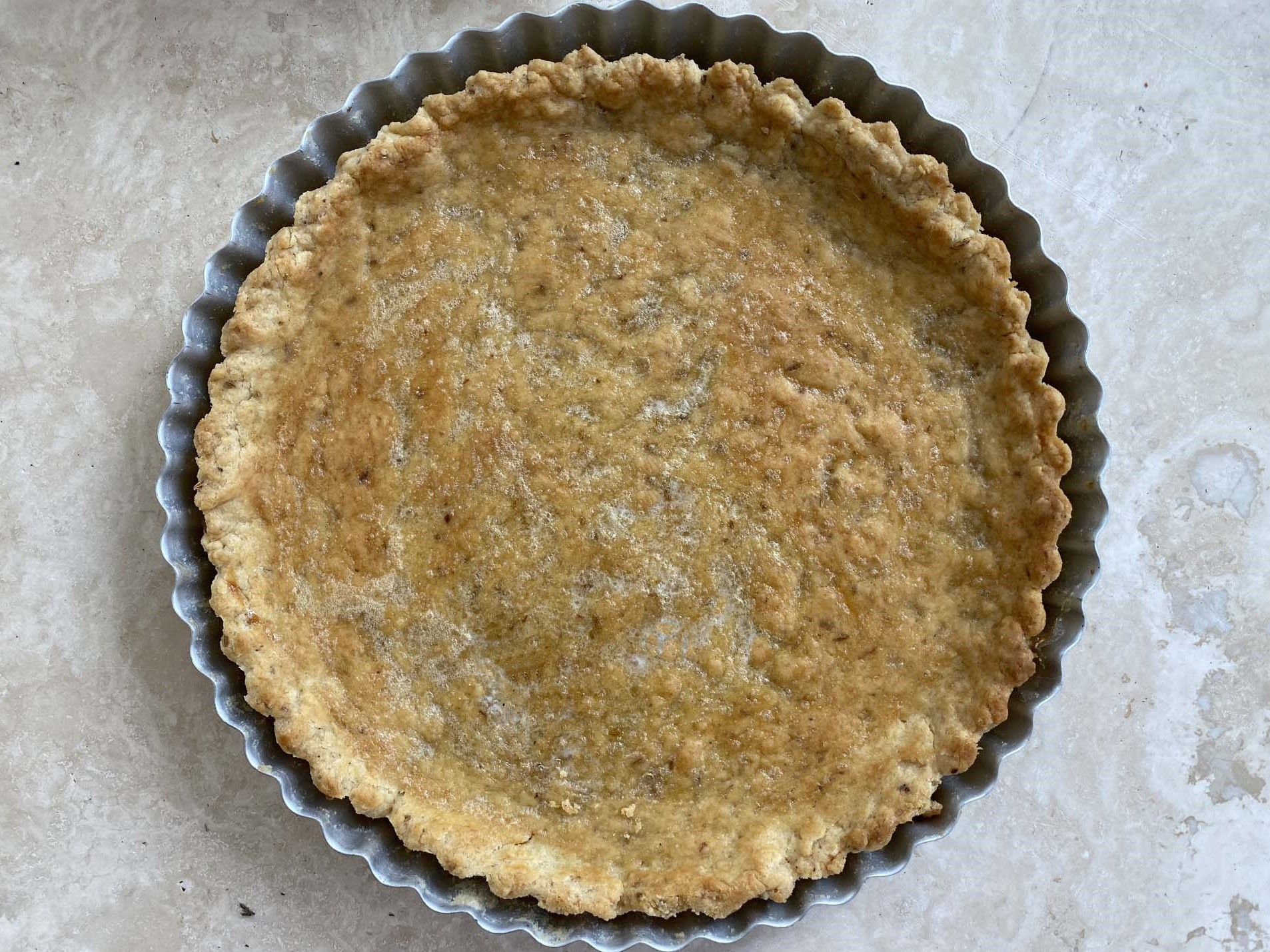 Fennel Seed Pie Crust