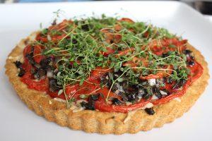 Fresh Tomato & Fontina Cheese Tart