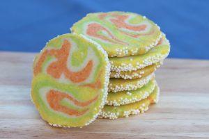 Citrus Swirl Cookie Recipe - Close Up