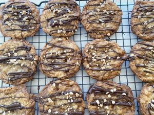 Chewy Brown Butter Oatmeal Cookies