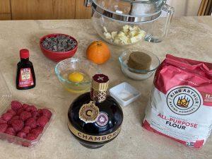 Raspberry Chocolate Chunk Cookies