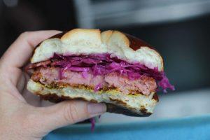Half Wisconsin Gemütlichkeit Spam Sandwich