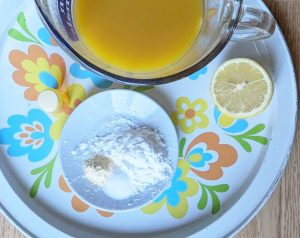 Coconut Curry Mango Cake